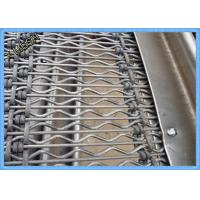 Best Self Cleaning Vibrating Screen Mesh Heavy Duty Hooked High Tensile Steel Wire wholesale