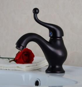 Best Antique Brass Oil Rubbed Bath Sink Faucet Tap wholesale