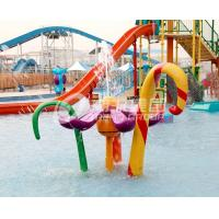 China Different Style Spray Park Fiberglass Equipment For Children / Kids Fun in Water Park on sale
