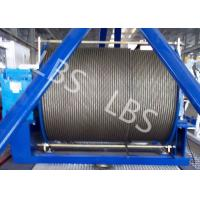 Best 20 Ton 50 Ton Electric Wire Rope Winch Steel Cable Industrial Electric Winch wholesale