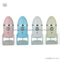 China 135ml Aroma Diffuser Mini USB Charging Rocket Humidifier LED Night Light for Home Office Car Decoration on sale