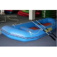China Inflatable Sports Boat with One Pair of Two - Piece Aluminum Anodized Oars on sale