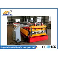 Best Red Color Floor Deck Roll Forming Machine For Galvanized Steel Floor Decking Sheet wholesale