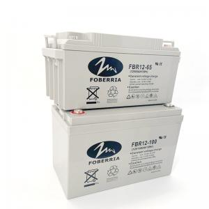 Best F13 Agm 65AH 100AH 12V Rechargeable Battery For Solar Panel wholesale