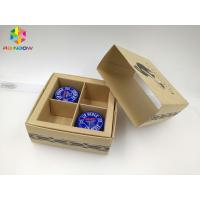 Best PVC / Kraft Custom Printed Paper Boxes , Gift Box Packaging With Transparent Window wholesale