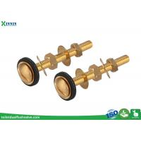 Cheap Easy Install Brass Toilet Bolts Set Of Two For Connection Of Close Coupled WC for sale
