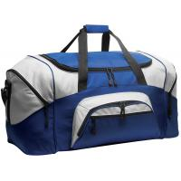 Best 600D Polyester Personalized Sports Duffle Bags Blue Color H32.4cm X W69.2cm X D34.3cm wholesale