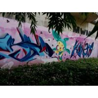 Cheap Custom Color Flexible Spray Paint Graffiti Wall Painting Material For Metal for sale