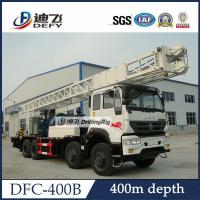 Best DFC-400B large well caliber truck mounted hydraulic hard rock drilling machine mud pump wholesale