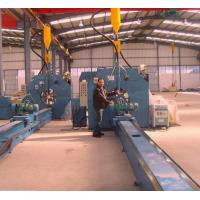 Best 16m Length Autotmatic Welding Light Pole Production Line 4KW AC Motor wholesale