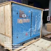 Best 8 Bar Large Capacity Stationary Screw Air Compressor For Tunnel Projects wholesale
