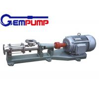 Best G type hand wheel single screw pump / Water Screw Pump 400~960 r/min wholesale