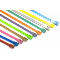 Best Durable heat - resisting Double Locking nylon cable ties UL ROHS with nylon66 wholesale