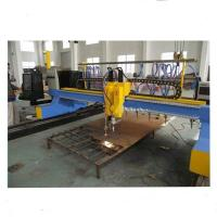Best 4000mm Gantry Type CNC Plasma Cutting Machine with vertical and horizontal cutting wholesale