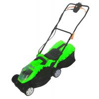 Best Commercial Electric Lawn Mower 3500rpm High Speed Green Color 35l Grass Collection wholesale
