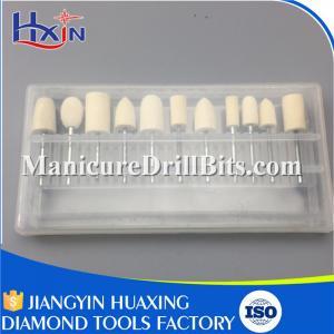 45mm Carbide Burs Dental Drill Bits For Dental Drill Machine 10 PCS / Set