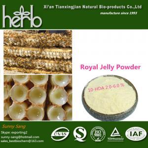 China Lyophilized Royal Jelly Powder on sale