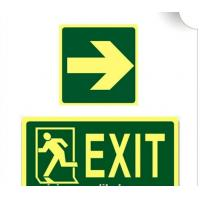 Best Road Safety Personalized Lighted Signs Custom Luminous Sticker For Warning wholesale