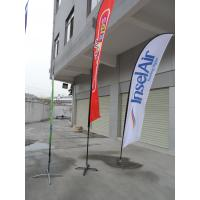Cheap Durable Double Sides Advertisement Beach Flag Banner Dye Sublimation Printing for sale