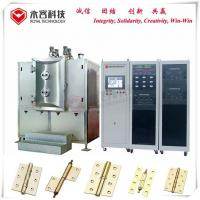 China Hinge Thin Film Coating Machine , Pecvd Magnetron Sputtering Equipment on sale