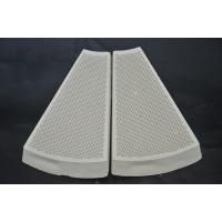 Best Infrared Honeycomb Ceramic Burner Plate For Pizza Furnace White Color wholesale