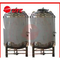 Best 10BBL SUS304L / SUS306L Brite Beer Tank 80 Insulation Thickness wholesale