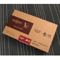China Henggang manufacturers produce customized red wine boxes, professional supply MDF wine packaging boxes, hardcover trays on sale