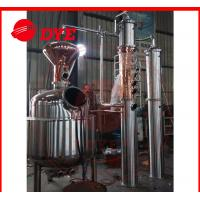 Best Semi-Automatic Commercial Alcohol Distilling Equipment 1 - 3Layers wholesale