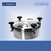 Quality DONJOY 300mm Round manhole Cover With Pressure Welded To The Tank wholesale