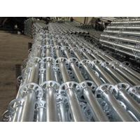 Quality Ringlock  Scaffold Standard with hot-dip galvanized  For Outdoor Repairing wholesale