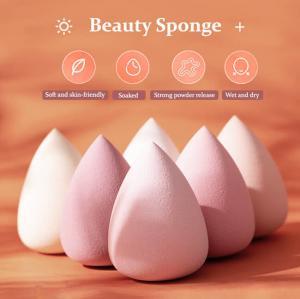 Best Multi Colors Latex Makeup Sponge Egg , OEM Makeup Puff Sponge wholesale