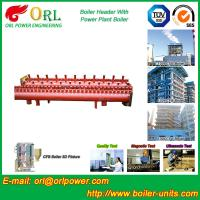 Best Industrial Steam CFB Boiler Header / Low Loss Headers Low Pressure wholesale