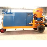 Tunnel Mobile Shot Concrete Machine For 20mm Aggregate High Efficient