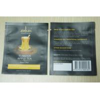 Quality 10g Small Packaging Tea Bags / Instant Matt Finish Tea Pouch In Black wholesale