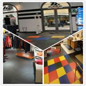 Best 3W Plastic Vinyl PVC Anti-slip Interlocking Shoping flooring Mats wholesale