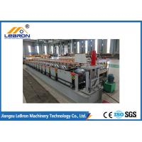 Best 14-16 Rollers Rain Gutter Making Machine Color Steel Coil Material Speed 8-12m/min wholesale