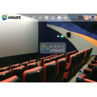 Best CE Approval 4D Digital Cinema Equipment With Curved Screen / HD Projectors wholesale