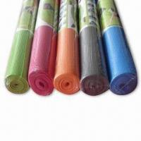 Best 173 x 61cm Eco-friendly Sports/Yoga Pilatemats in Anti-slip Feature and 3/4/5/6/7/8mm Thickness wholesale