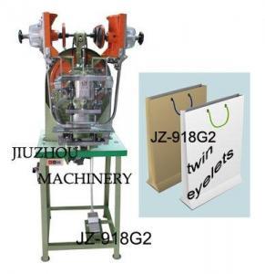 China Paper Bag Eyelet Machine (JZ-918G2) on sale