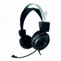 Buy cheap PC Headphones with 20Hz to 20kHz Frequency Response and 20mW Rated Power from wholesalers
