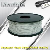 Best Marble 3D High Strength Printer Filament 3mm / 1.75mm , Print temperature 200°C - 230°C wholesale
