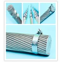 Best 14 Gauge Galvanized Steel Wire Rope , High Strength Steel Cable Creep Resistance wholesale