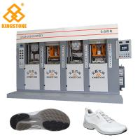 Best TPU TR PVC TPR Shoe Sole Making Machine for sport shoes 70-100 Pairs Per Hour And 4 Stations wholesale