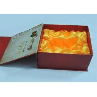 Best Electronic Products / Wine Printed Gift Boxes With Plastic Tray 250gram / 300gram wholesale