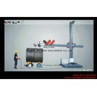 Best Fixed Vessel Fit Up Welding Manipulator 8 * 8m Automated Welding Equipment With Trolley wholesale