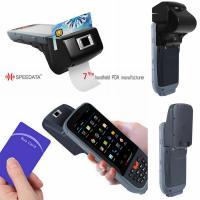 Best Intelligent GPS 3G Wireless Fingerprint Scanner Bar Code RFID Reader wholesale
