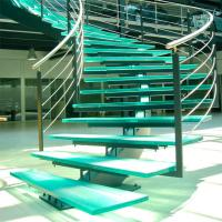 Best Mono Stringer Stairs / Single Stringer Metal Staircase Prefabricated wholesale