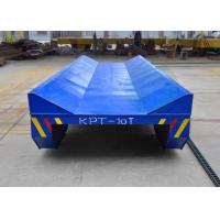 Best 50t emergency-stop button towed cable rail guided steel coil transfer wagon for steel plant wholesale