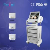 Best nasolabial removal skin tightening hifu face lift wrinkle removal double chin machine wholesale