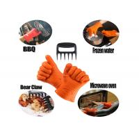 Best Grilling BBQ Silicone Gloves and Bear Meat Claws For kitchen and outdoor wholesale